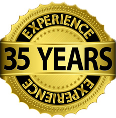35 years of AABC experience in Air Condiitoner and Appliance Repair